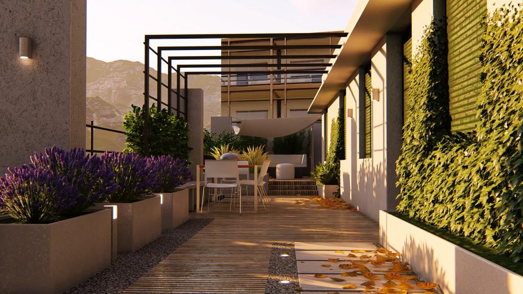 A terrace to enjoy