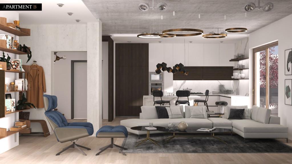 Split my apartment in 2 (Modern Style)
