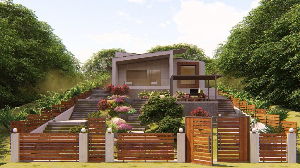 Villa Design in Gillan