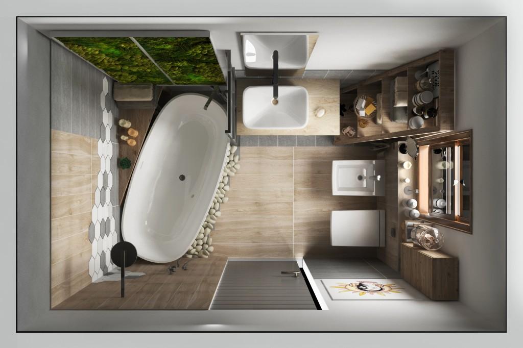 Ideal Bathroom showroom for Leroy Merlin (Italy)